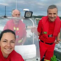 Das Bootsteam der DLRG Bad Salzig (Quelle: DLRG Bad Salzig)