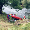 Einsatz Fluss Leine/ Leblose Person