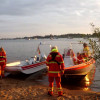 DLRG Adendorf-Scharnebeck e.V. Absicherung Elbe brennt 17.08.2019